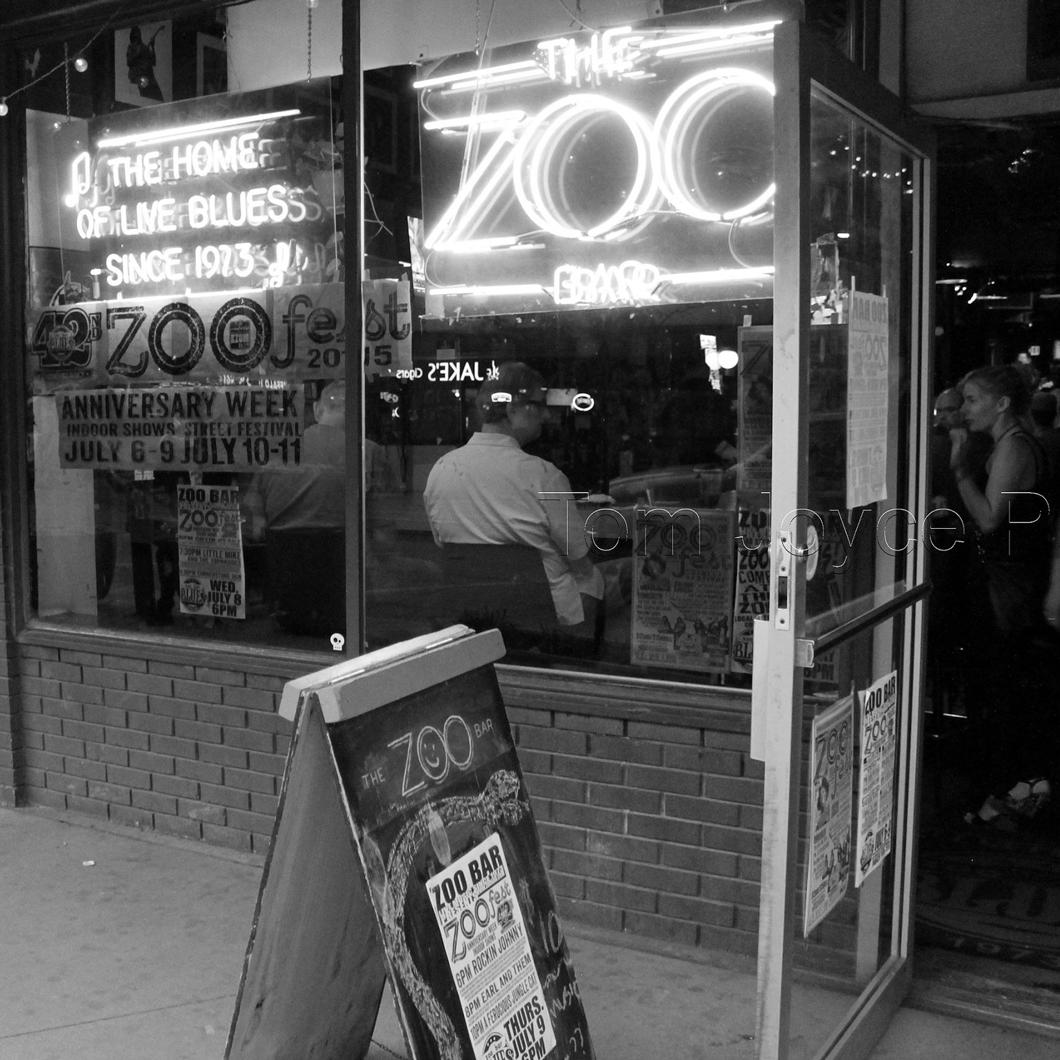The Front Door of The Zoo Bar